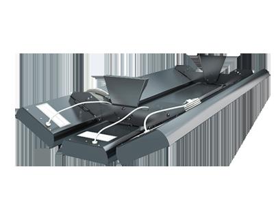 Dreifachhalterung für Terrassen - Dunkelstrahler