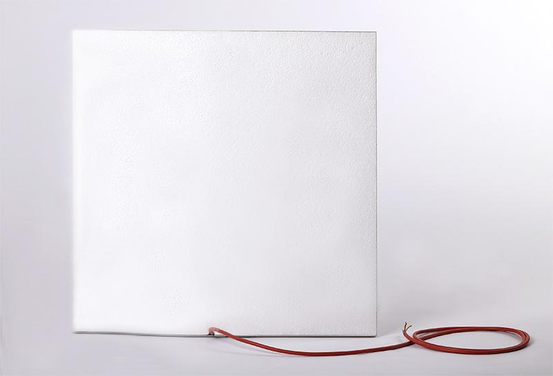 Infrarotheizpaneele für Rasterdecken | Rückseite